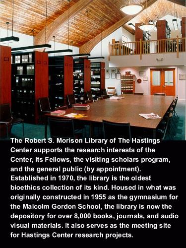 Robert S. Morison Library